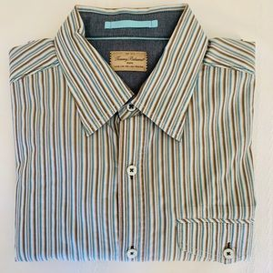 Tommy Bahama L/S Multi Color Striped Shirt